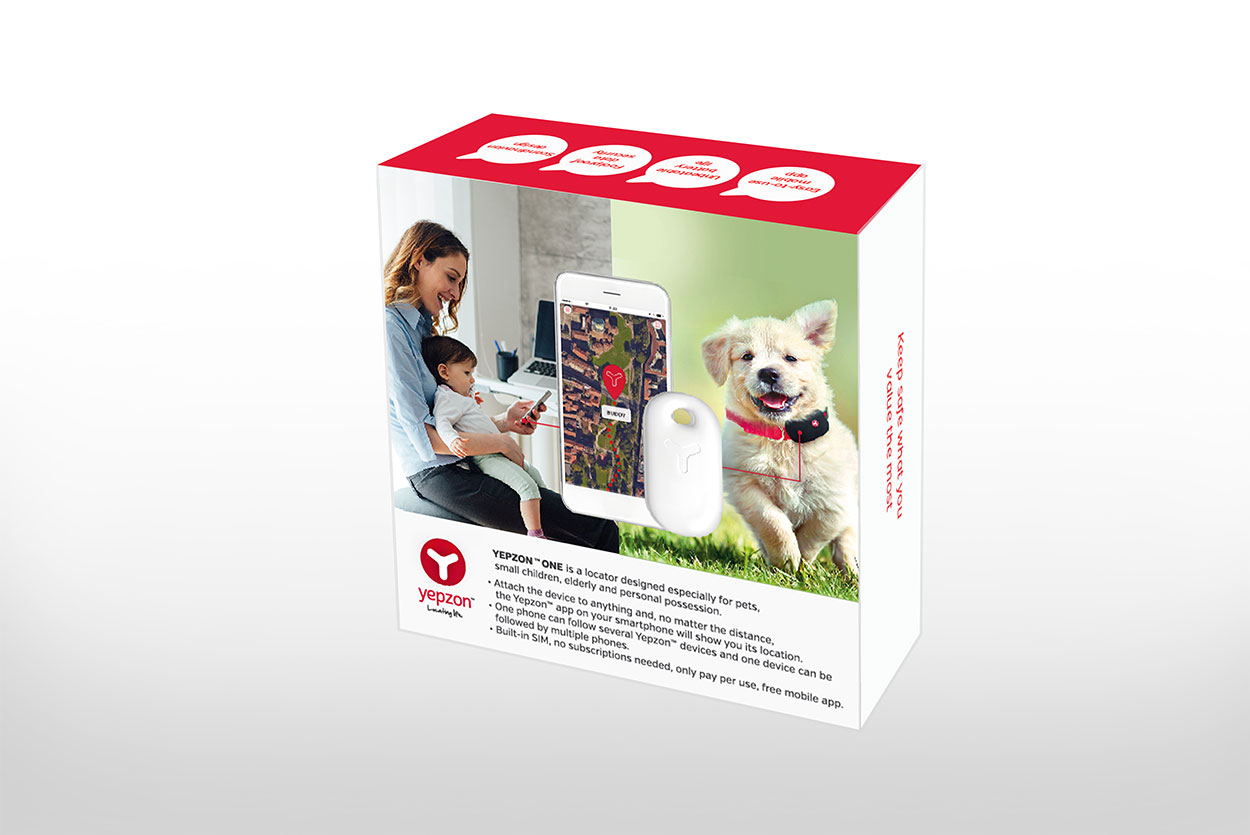Yepzon One Small Choyo Bag Smartphone Ampamp Gps Is A Locator Which Has Been Designed To Keep Especially Pets Children The Elderly And Valuables Safe With Yepzons Easy Use
