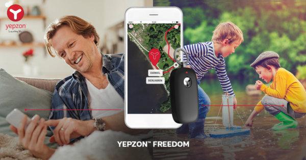 Elisa julkaisee Yepzon™ Freedom -paikannuslaitteen palvelutuotteena