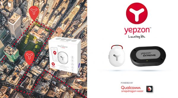 Yepzon introduces next generation 4G LTE Smart Trackers at CES 2019 Based on Qualcomm Snapdragon Wear 1200 Platform